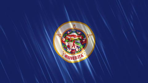Minnesota State Loopable Flag Animation