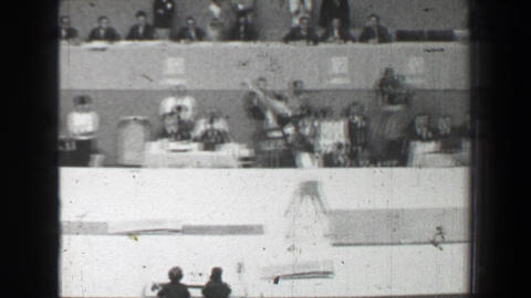 1968: Natalia Kuchinskaya Soviet Union vault women's gymnastics Summer Olympic G Live Action