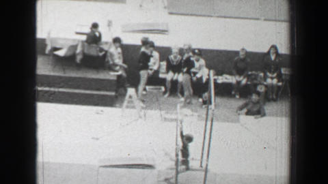 1968: Bohumila Řimnáčová Czechoslovakia women's gymnastics uneven bars Summe Footage