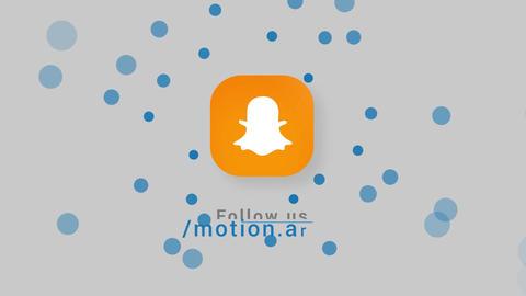 Click Clean Social Media Logos Motion Graphics Template