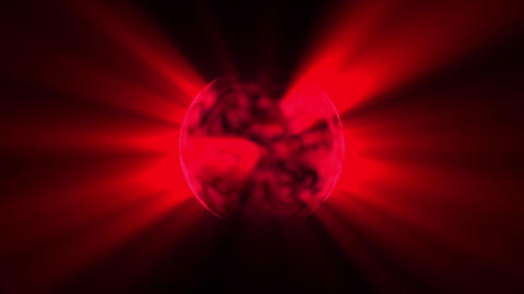 Fast Boiling Dark Red Sun Rays Motion Background Loop 2 Animation