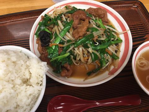 stir-fried liver and Chinese chives フォト