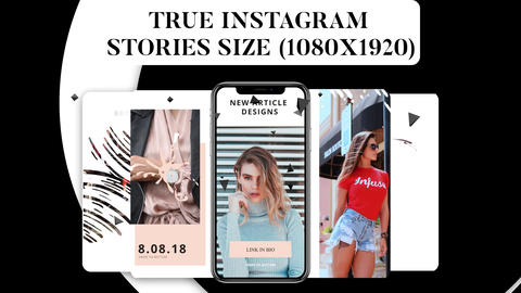 Instagram Stories Vol 2 After Effects Template
