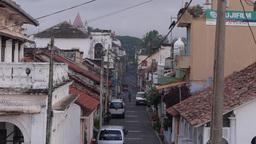 A street,Galle,Sri Lanka Footage