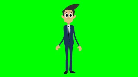 Businessman Animation - uninformed Videos animados