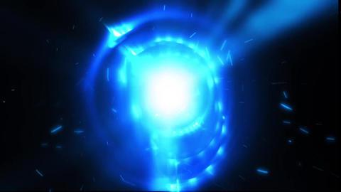 Particles Explosion Logo Reveal Premiere Pro Template