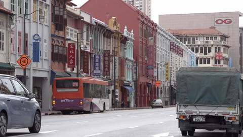 Asian cityscape ビデオ