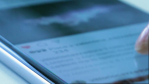Social Like Button On Smartphone GIF