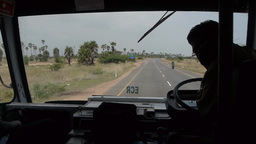 In the bus to Madras Footage