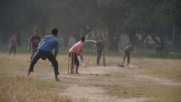 Cricket on the maiden,Kolkata,India Footage