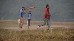 Cricket on the maiden,Kolkata,India Footage