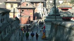 Pashupatinath Temples,Kathmandu,Nepal Footage