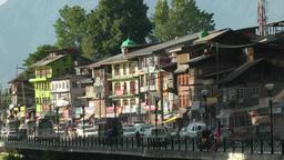 Busy street ,Srinagar,India Footage