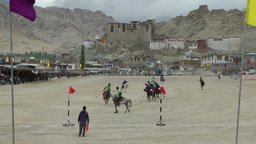 Polo match on Polo grounds ,Leh,India Footage