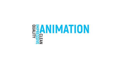Elegant Kinetic Typography Motion Graphics Template
