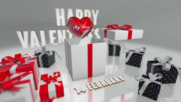 Valentine's Day Gift Sale After Effects Template