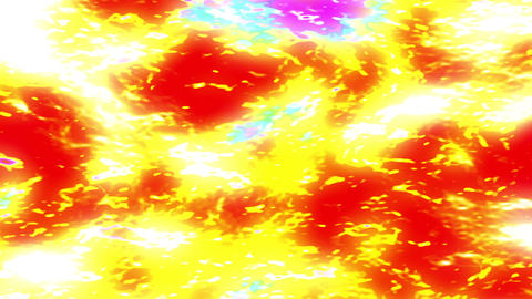 Boiling Glowing Fiery Energy Bursting Texture Motion Background 1 Animation
