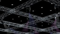 Big Square Truss-Stage Lights 3D Model
