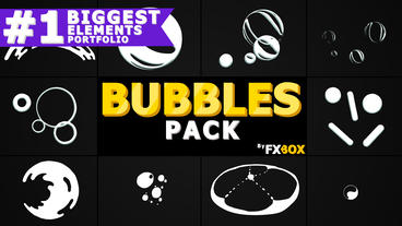 Bubble Elements After Effects Template