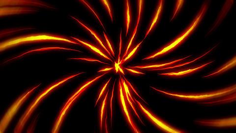 Fire lightning animation, Cartoon comic animation, Flame loop background Animation