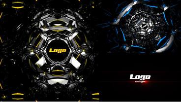 Futuristic Tunnel Logo Reveal Premiere Proテンプレート