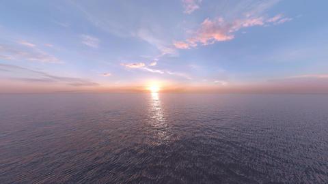 Sunrise&Sunset Sea Animation