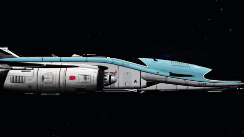 Space ship Animation