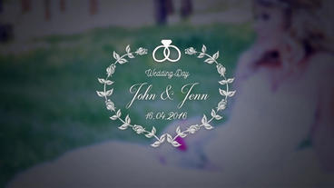 Wedding Titles Pack (10) After Effects Template