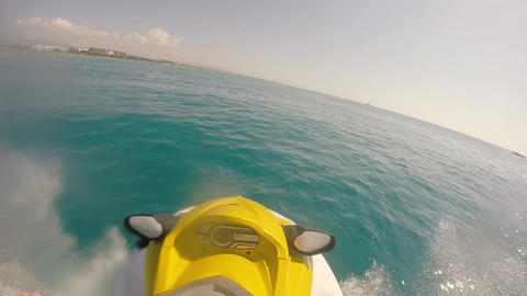 jet skiing on the sea ビデオ