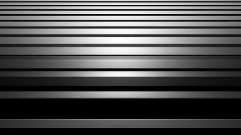 Aluminum abstract silver stripe background 3d illustration, horizontal bars with Footage