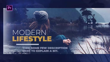 Modern Lifestyle Premiere Pro Template
