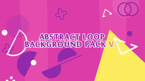 Abstract Loop Background V1 After Effects Template