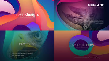 Colors Of Life Titles After Effects Template