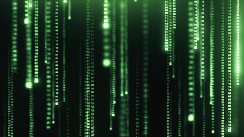 Matrix Data Background Animation