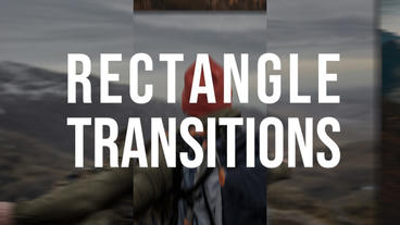 Rectangle Transitions Premiere Pro Template