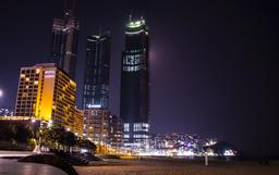 Busan Haeundae night view Photo