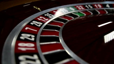 Close-up of roulette at the Casino GIF