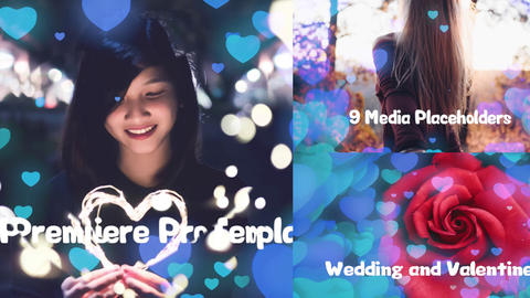Valentine's Day & Love & Wedding Slideshows Logos For Premiere Pro Template 1