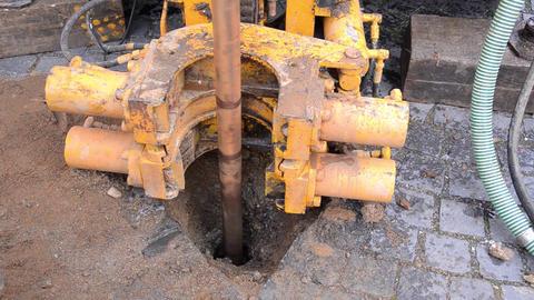 Equipment for underground digging in hard ground 04 Footage