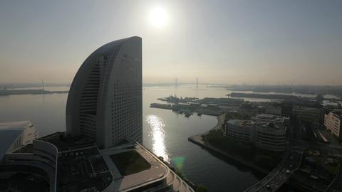 Minato Mirai 21, Yokohama, Japan - Fix ビデオ