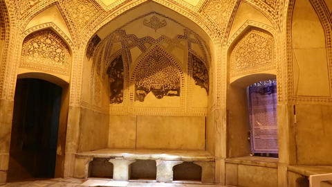 Iran inside the old mosque 0002 Footage