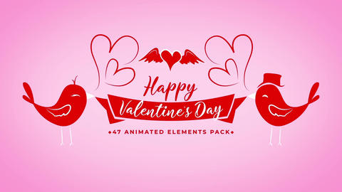 Valentine Day Toolkit - Mogrts Motion Graphics Template