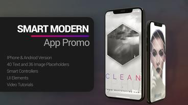Smart Modern App Promo After Effectsテンプレート