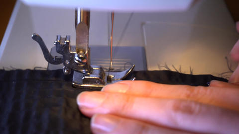 Sewing machine close up GIF