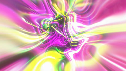 Abstract glow energy background with visual illusion and wave effects, 3d render Footage