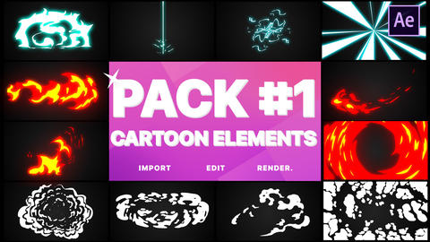Elements Pack 01 Motion Graphics Template