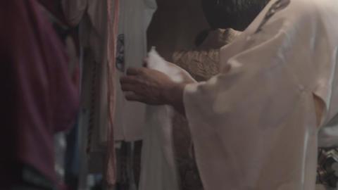 "Behind the scenes of Japanese traditional dancing ""Kagura Mai"" ビデオ"