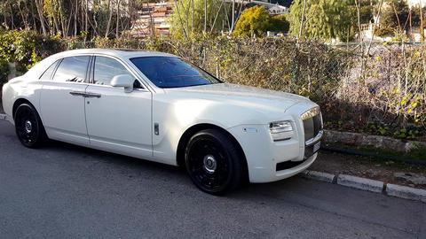 White Rolls-Royce Ghost Footage