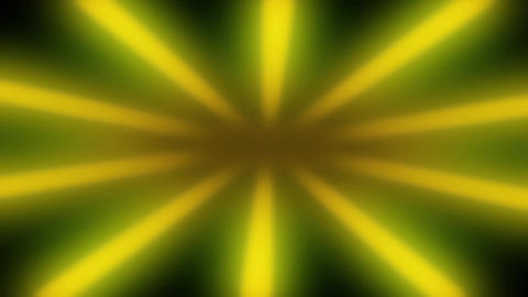 Yellow Sunburst Shiny Rays Looped Background Animation