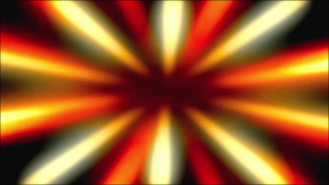 Shiny Sunburst Rays Of Yellow And Orange Light Loop Backgorund Animation